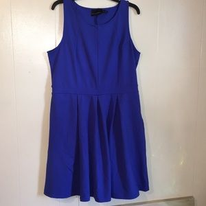 Cynthia Rowley Sleeveless Blue Dress, Size 1X